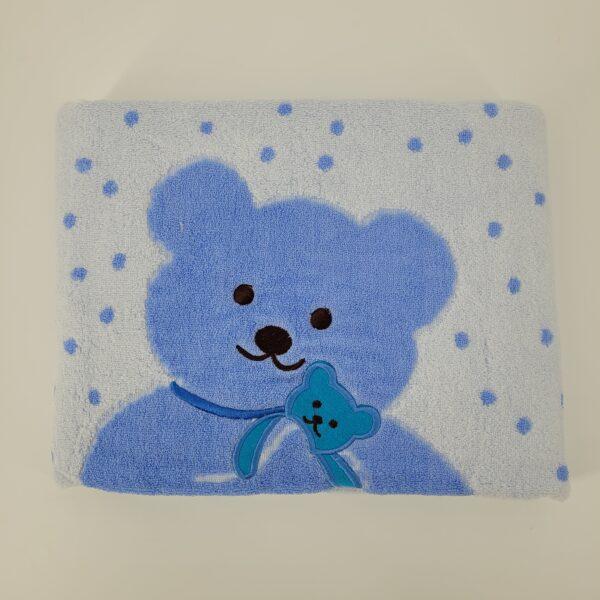 ręcznik miśniebieski