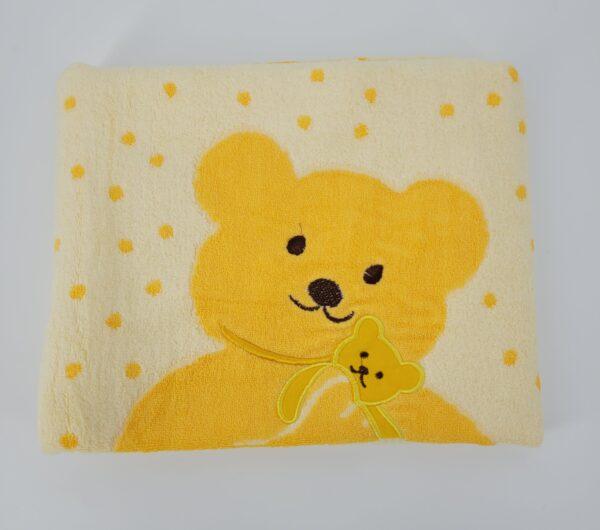 ręcznik miś żółty