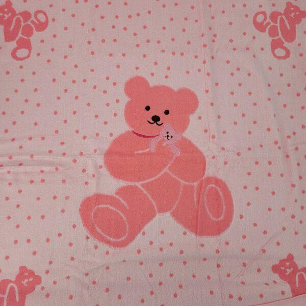 ręcznik miś różowy 2
