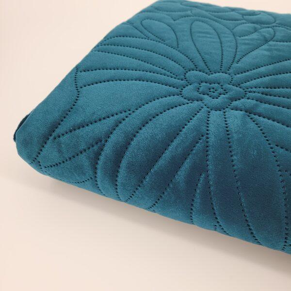 narzuta na łóżko - turkus2