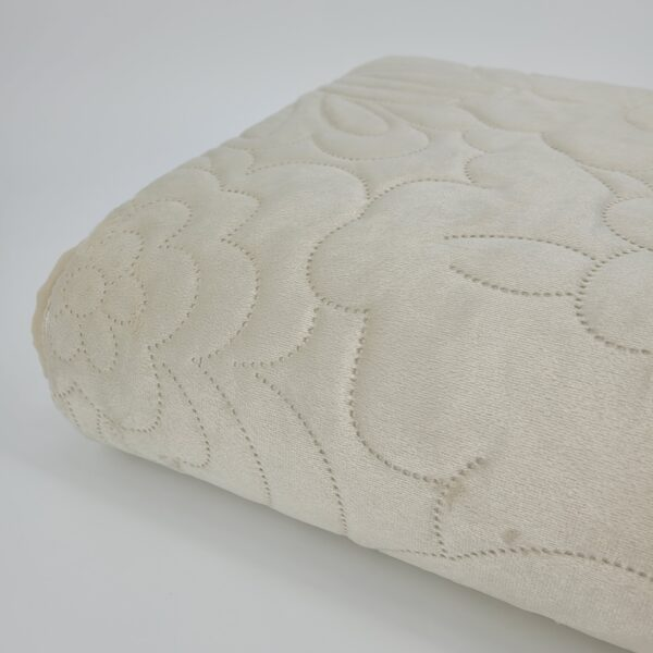 narzuta na łóżko - kwiaty2