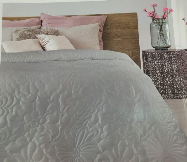 narzuta na łóżko - kwiaty3