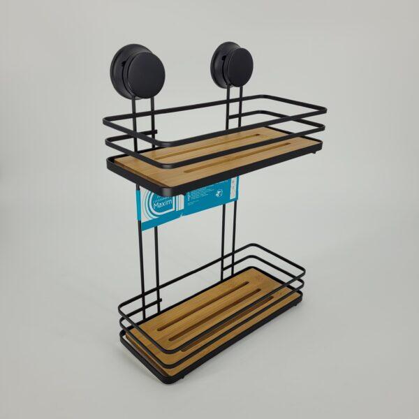 półka z drewnem