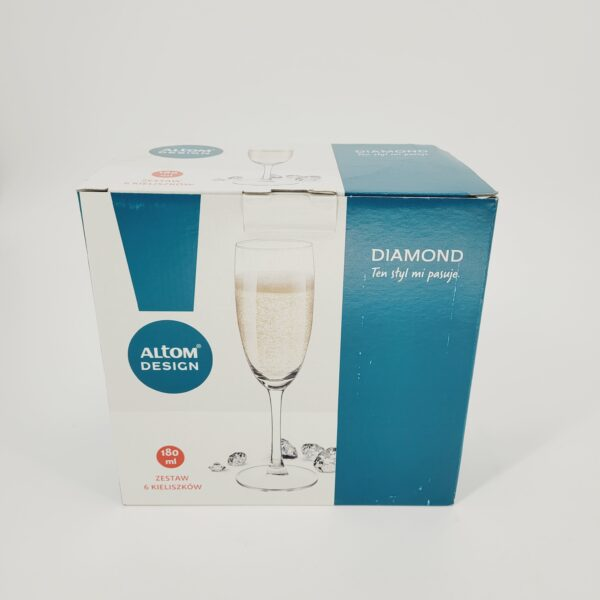 kieliszki do szampana dia4mond4