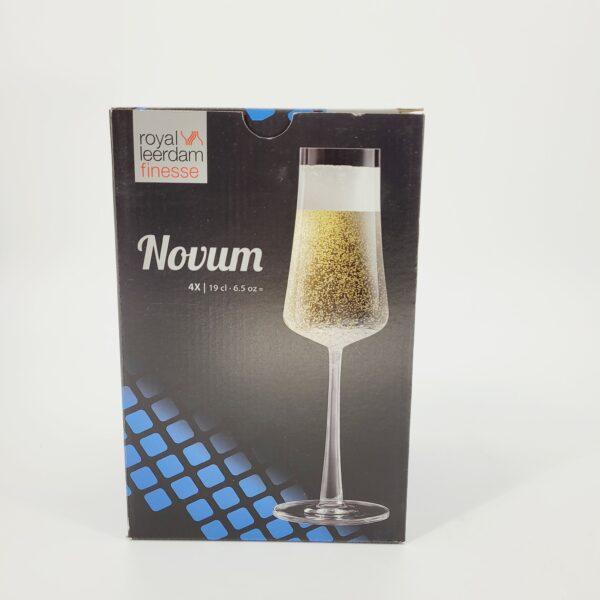 kieliszki do szampana novum