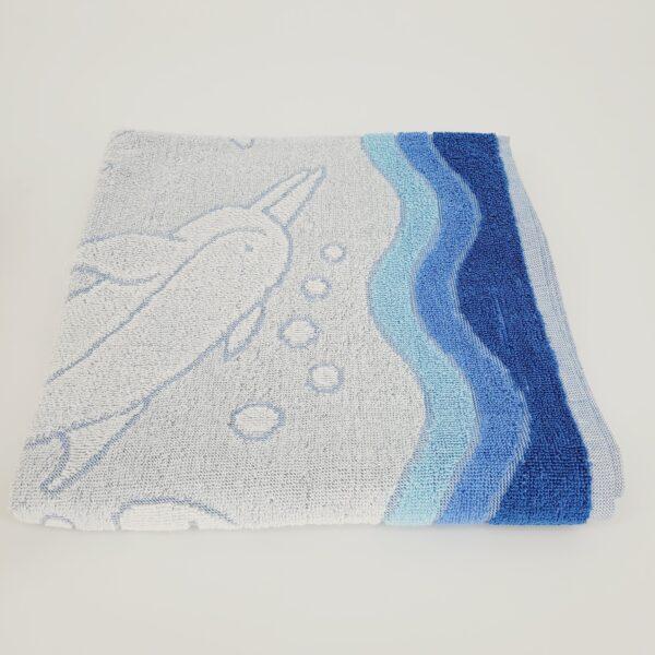 ocean niebieski 70x140