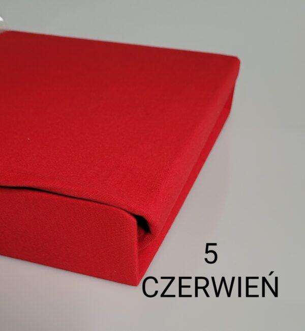 czerwony jersey