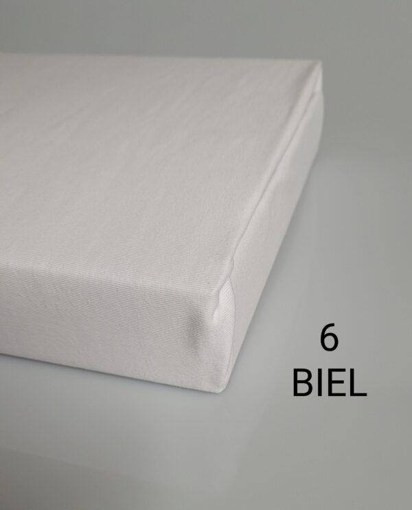 biały jersey