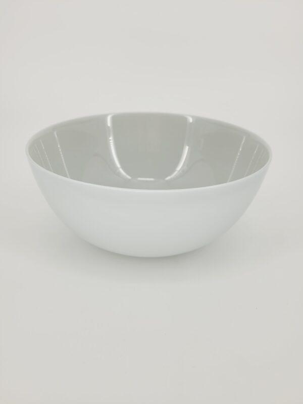 szara miska do zupy