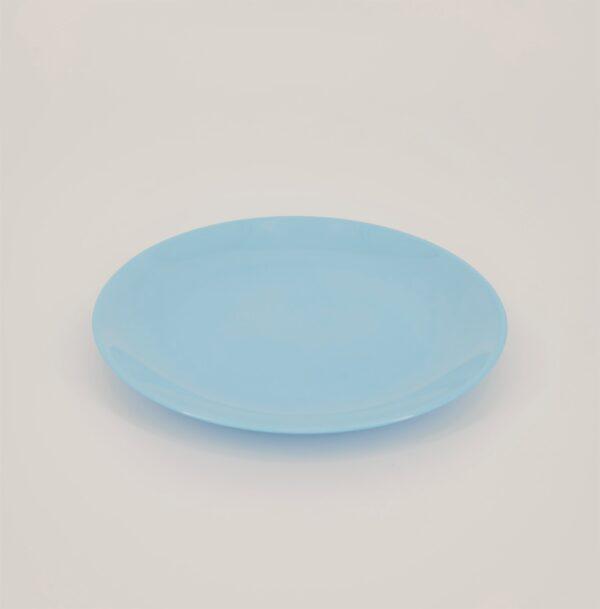 diwali talerz deserowy niebieski