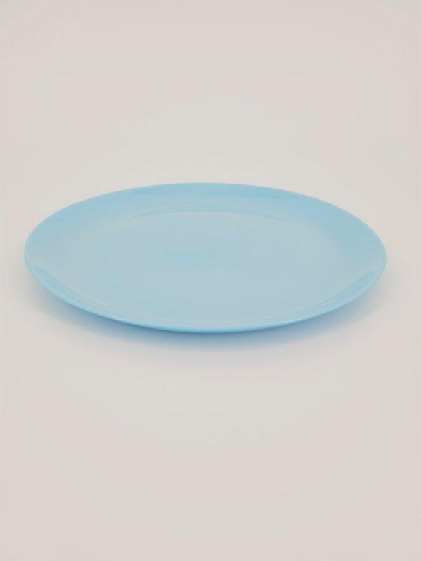 talerz obiadowy diwali niebieski